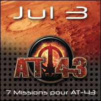 Jul 3, pack de 7 missions pour les Army Box AT-43 !
