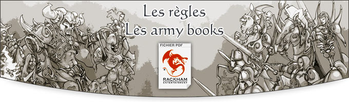 Regles & Army Books pour Confrontation 4