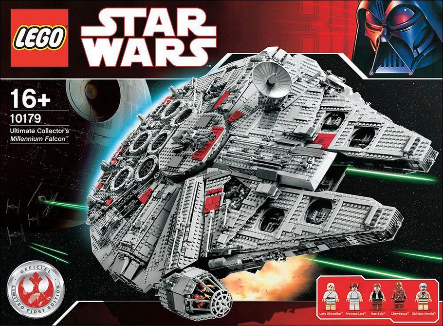 10179 millenium falcon ucs lego star wars ultimate collector series photos review. Black Bedroom Furniture Sets. Home Design Ideas