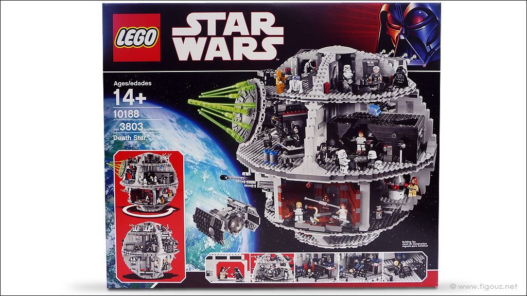 10188 death star ucs lego star wars ultimate collector series photos review. Black Bedroom Furniture Sets. Home Design Ideas