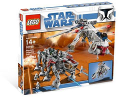 LEGO 10195 Republic Dropship & AT-AT Walker Ultimate Collector Series