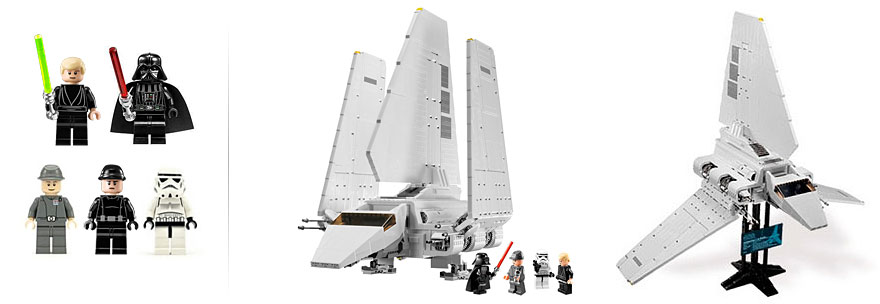 Lego Star Wars 10212 Lambda Class Imperial Shuttle Ultimate Collector Series