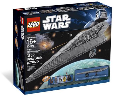 Lego star wars 10221 super star destroyer executor ultimate