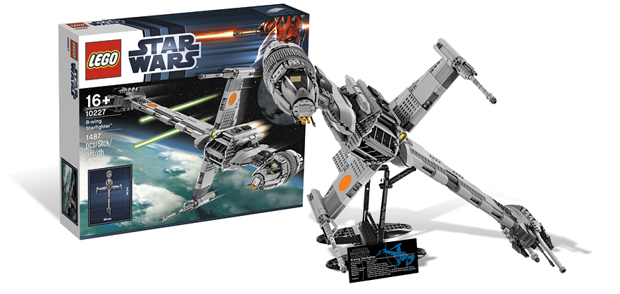 Le set UCS 10227 B-Wing Starfighter - Nouveauté LEGO Star Wars 2012