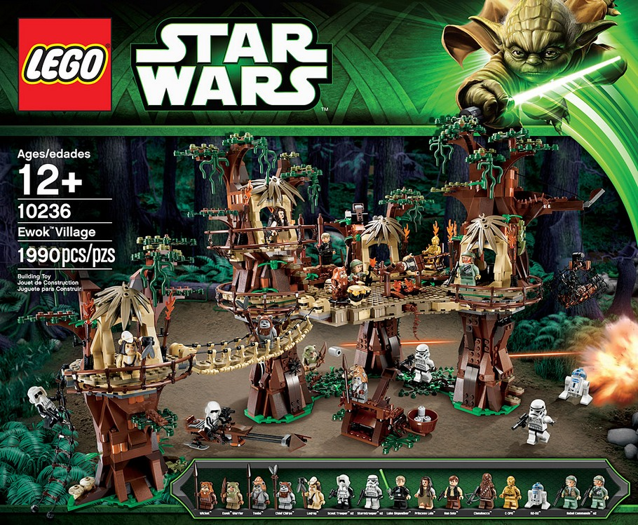 LEGO Star Wars 10236 Ewok Village UCS