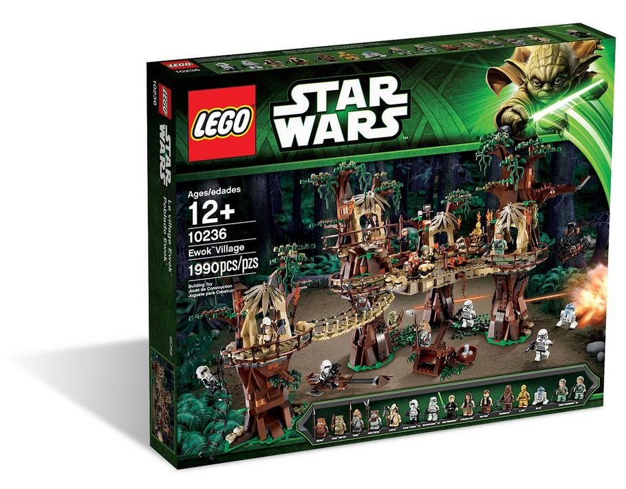10236 ewok village ucs lego star wars ultimate collector series photos review. Black Bedroom Furniture Sets. Home Design Ideas