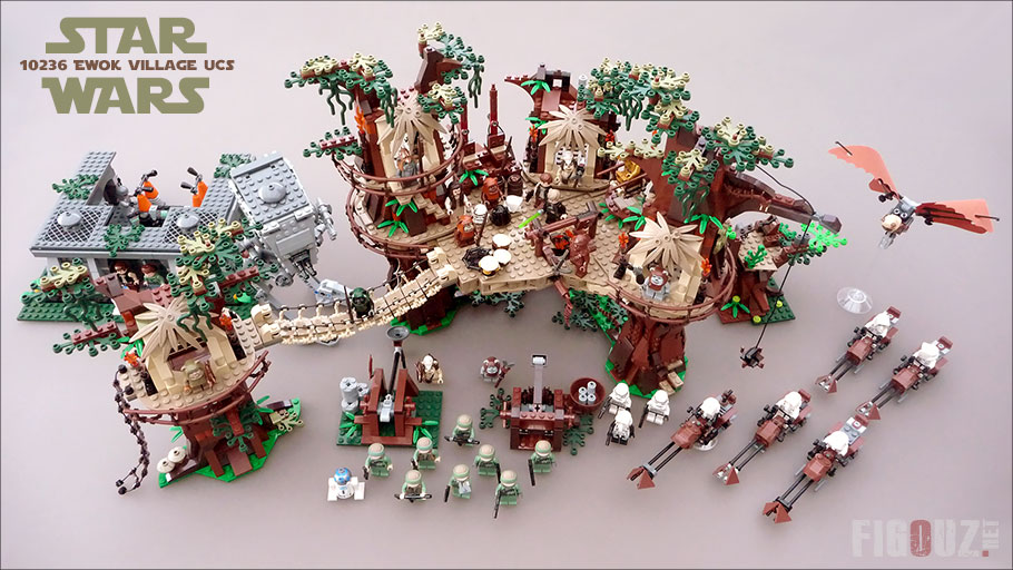 10236 Ewok Village - L'un des plus beaux sets LEGO Star Wars !