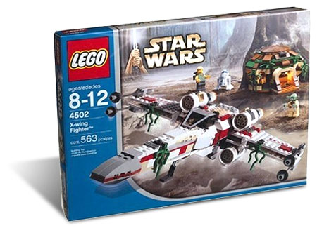 LEGO 4502 - X-Wing Fighter on Daggobah