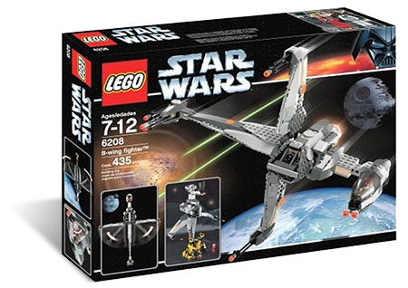 LEGO 6208 - B-Wing Fighter