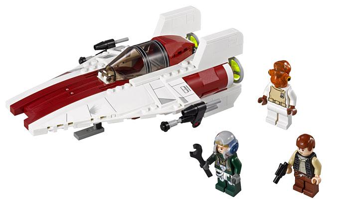 LEGO Rebel pilote A-Wing torse de Set 75003 A-wing Starfighter Star Wars NEUF