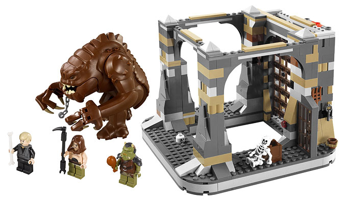 Le Rancor Pit, extension du set 9516 Jabba's Palace !