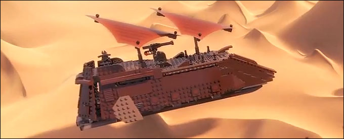 75020 Jabba's Sail Barge Preview !