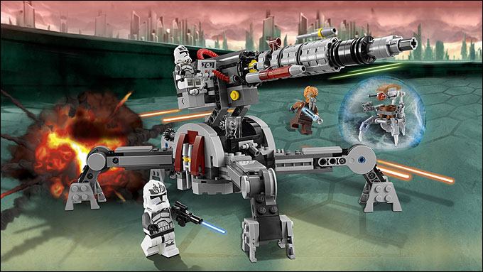 Lego star wars clone army 2014