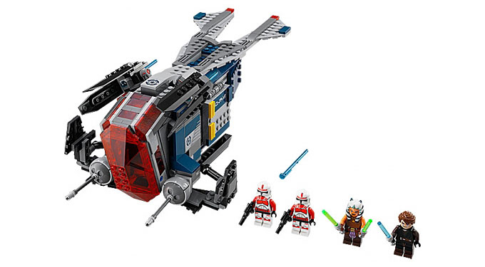 contenu du set 76046 coruscant police gunship contenu du set 76046 coruscant police gunship les photos officielles du set lego star wars - Lego Star Wars Vaisseau Clone