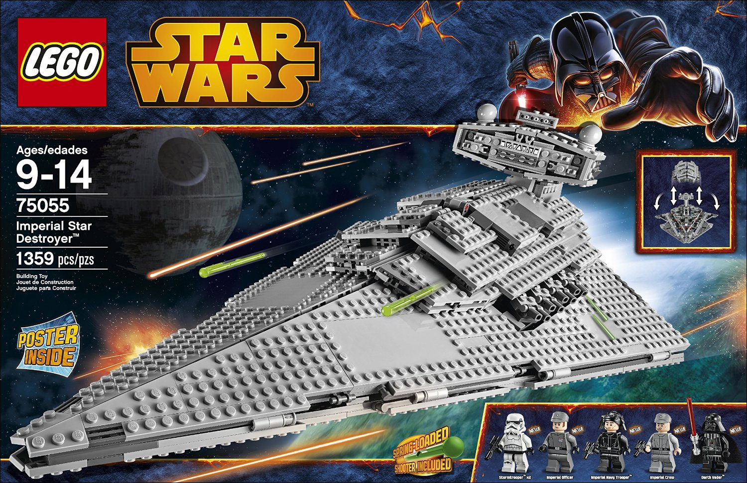 75055 imperial star destroyer lego star wars photos - Vaisseau dark vador ...