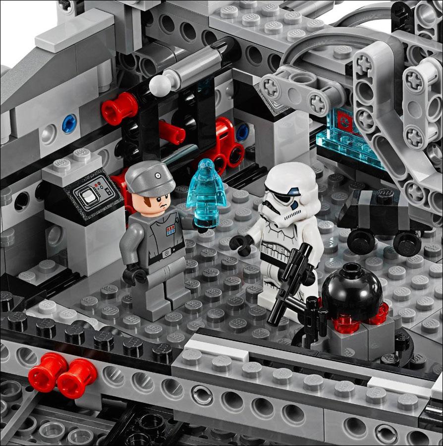 75055 imperial star destroyer lego star wars photos for Interieur vaisseau star wars