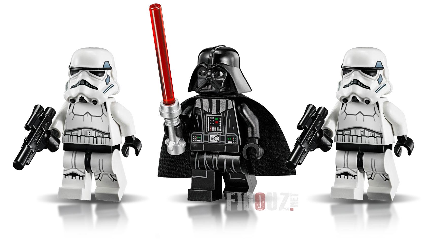 Lego star wars dark vador vaisseau - Lego star wars avec dark vador ...