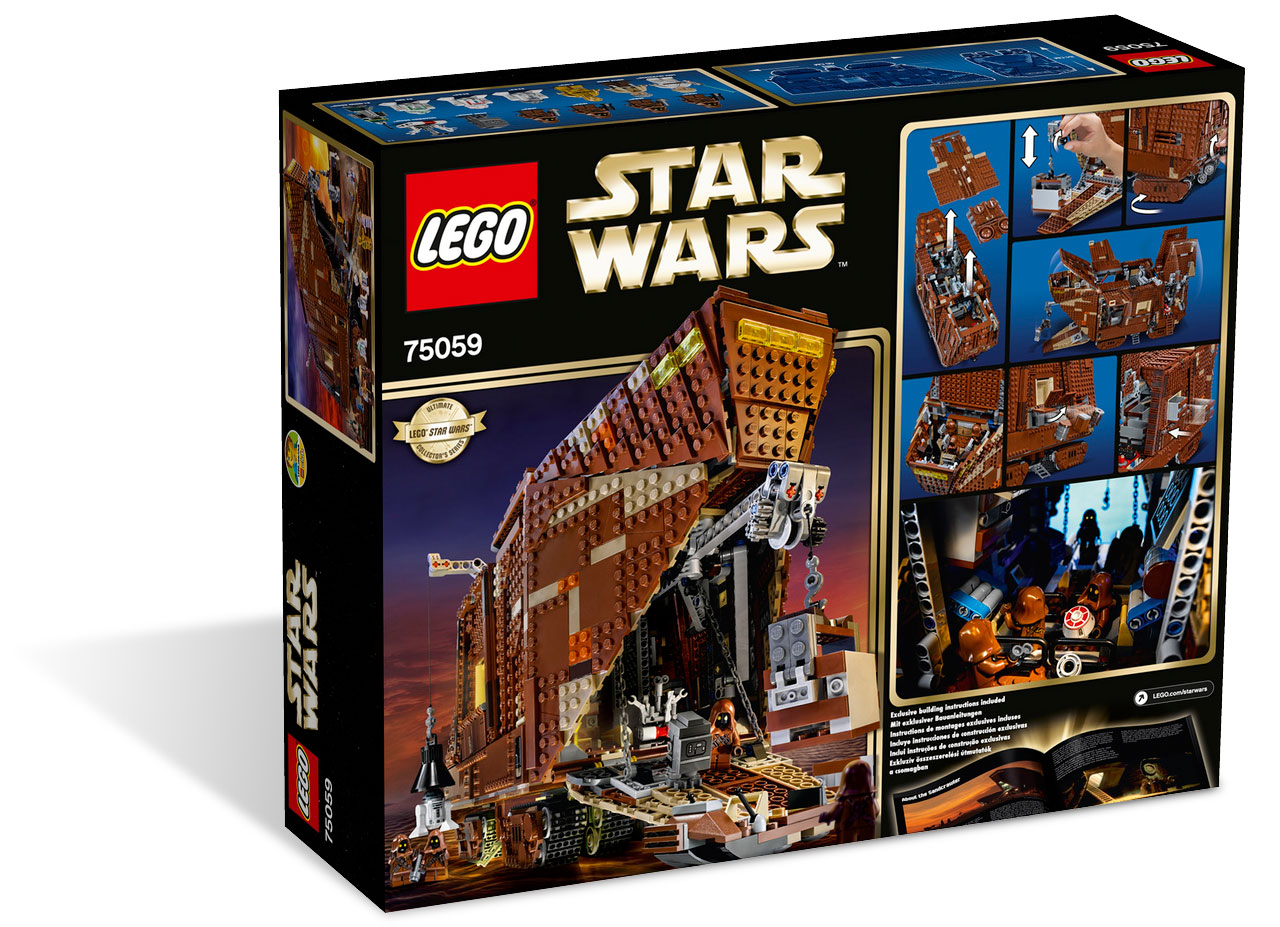 75059 sandcrawler usc lego star ultimate collector series photos review caract ristiques. Black Bedroom Furniture Sets. Home Design Ideas