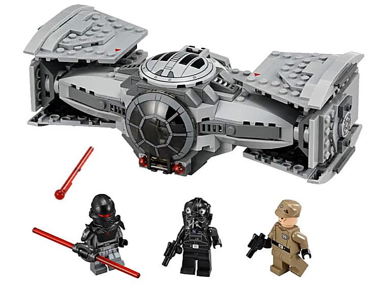 lego star wars 2015 le contenu du set 75082 tie advanced prototype