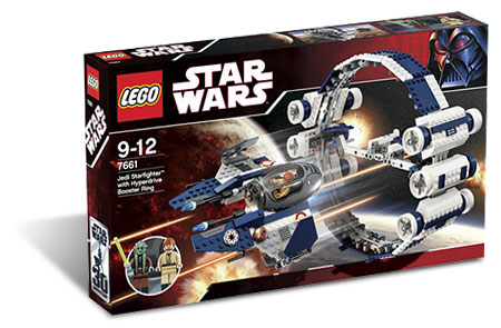 LEGO Star Wars 7661 - Jedi Starfighter with Hyperdrive Booster Ring