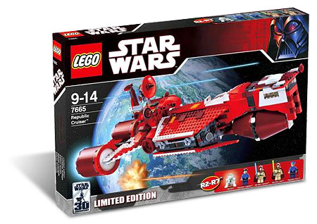 LEGO Star Wars 7665 - Republic Cruiser