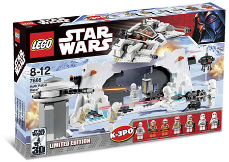 LEGO Star Wars 7666 - Hoth Rebel Base