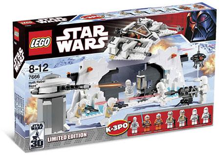 Lego star wars 7666 - hoth rebel base