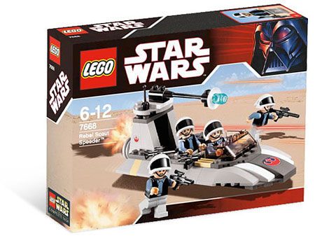 LEGO Star Wars 7668 - Rebel Scout Speeder