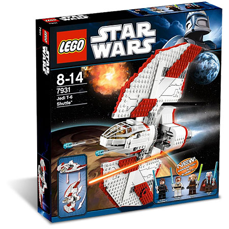 LEGO Star Wars 7931 T-6 Jedi Shuttle