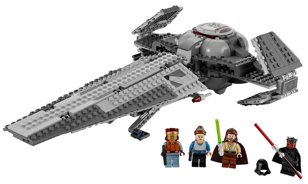 lego 7961 darth mauls sith infiltrator lego star wars