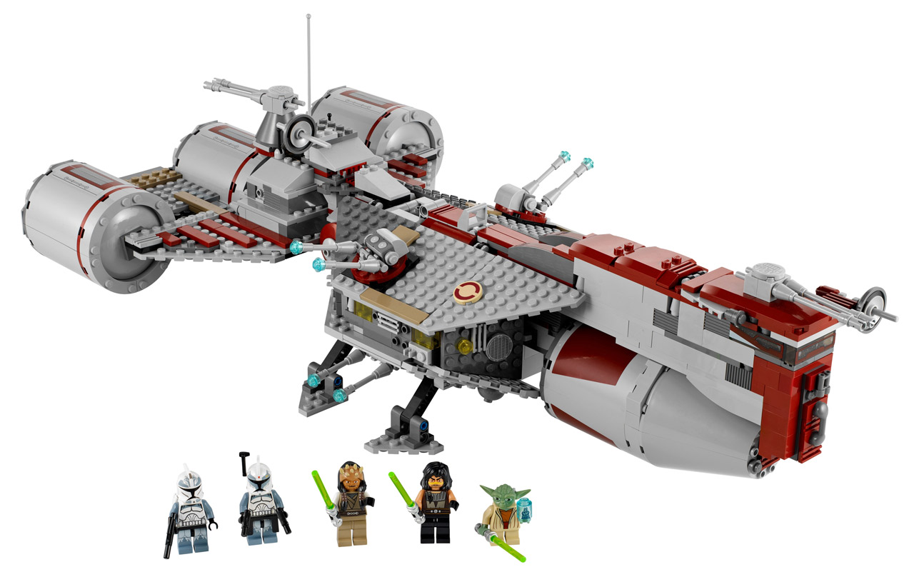 7964 republic frigate lego star wars photos review - Image vaisseau star wars ...