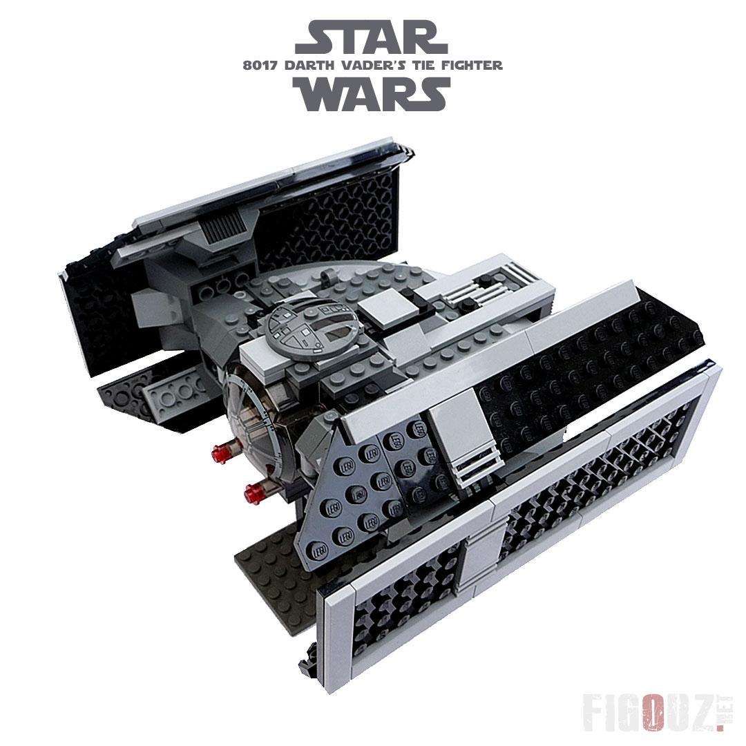 8017 darth vader 39 s tie fighter lego star wars photos - Lego star wars avec dark vador ...