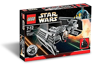 LEGO 8017 - Darth Vader's TIE Fighter