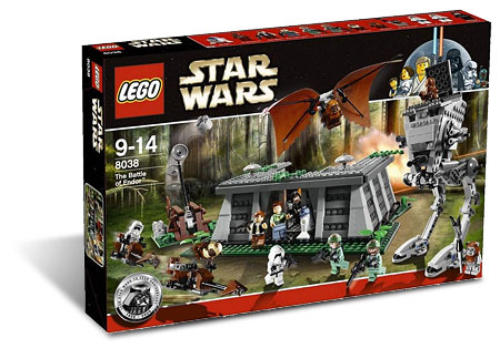 Lego star wars 8038 the battle of endor anniversary edition