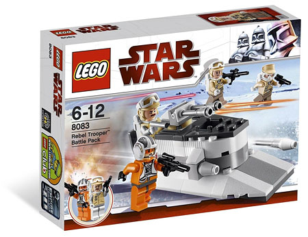 LEGO Star Wars 8083 Hoth Trooper Battle Pack