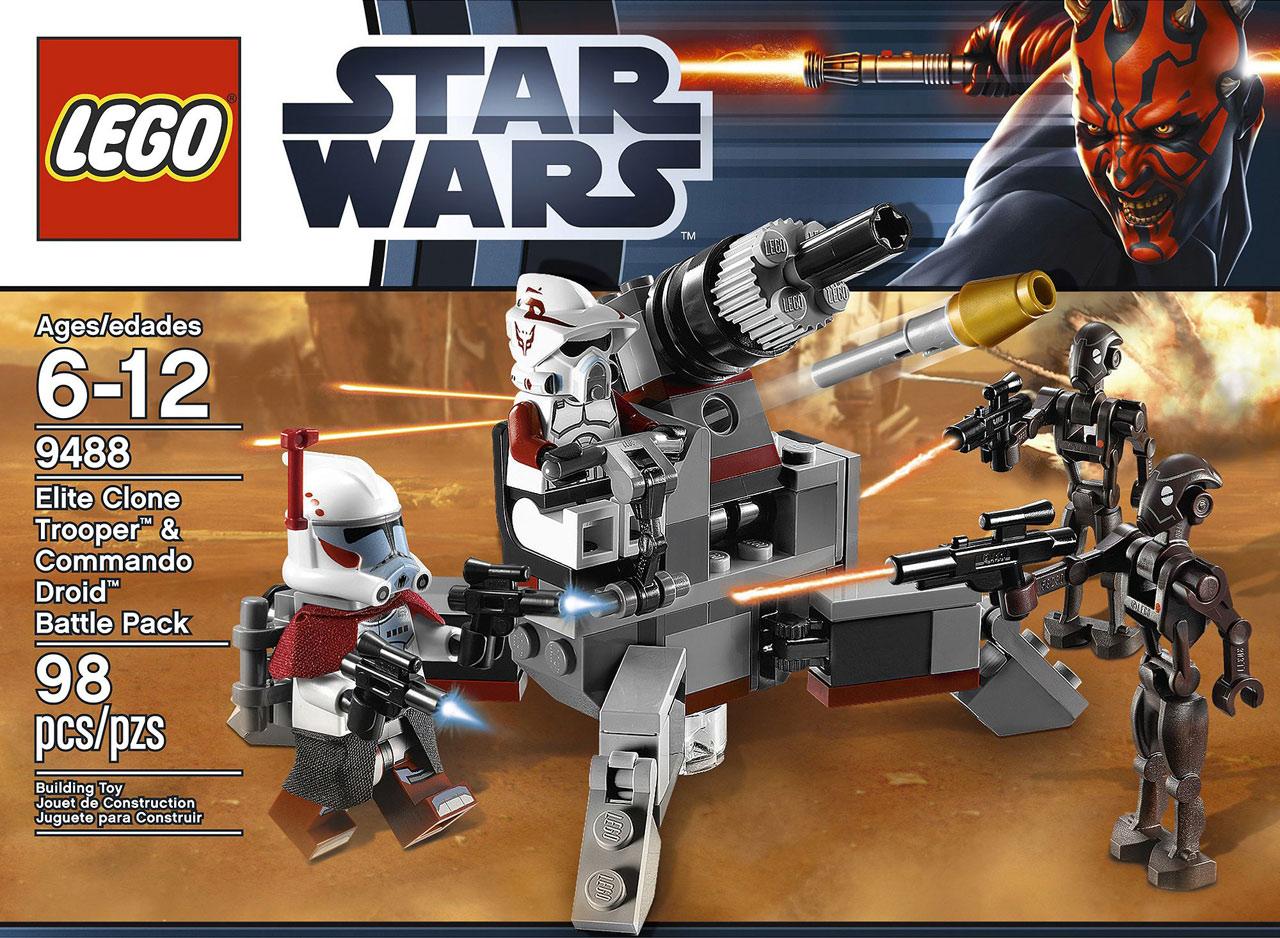 UltraJeux  Star Wars 9488  Elite Clone Trooper & Commando Droid LEGO