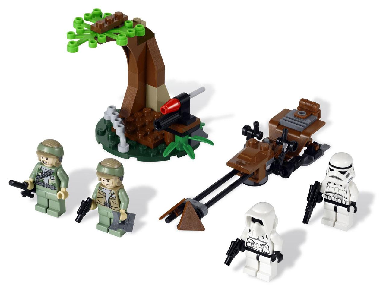 [REVIEW] LEGO 9489 – Endor Rebel Trooper & Imperial Trooper Battle Pack (Star