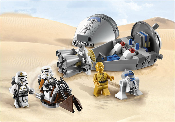LEGO Star Wars 9490 Droid Escape