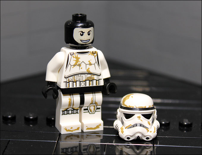 Nouvelle minifigurine de Sandtrooper du set LEGO Star Wars 2012 9490 Droid Escape !