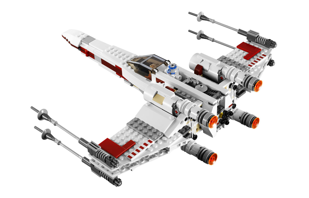 9493 x wing starfighter lego star wars photos review caract ristiques et prix du set. Black Bedroom Furniture Sets. Home Design Ideas