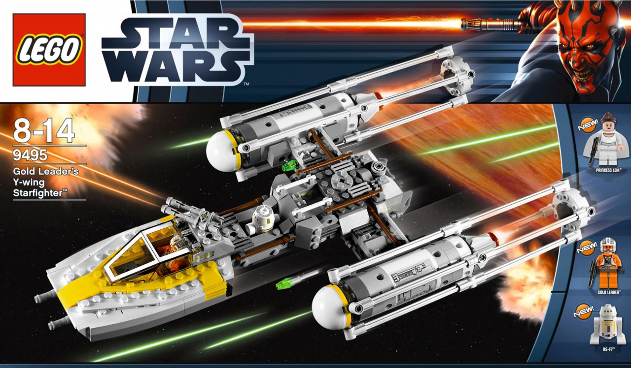 Lego star wars 75172 y wing starfighter from rogue one review the - 9495 Gold Leader S Y Wing Starfighter Lego Star Wars