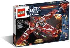 Lego Star Wars 9497 Republic Striker-Class Starfighter à prix promo !