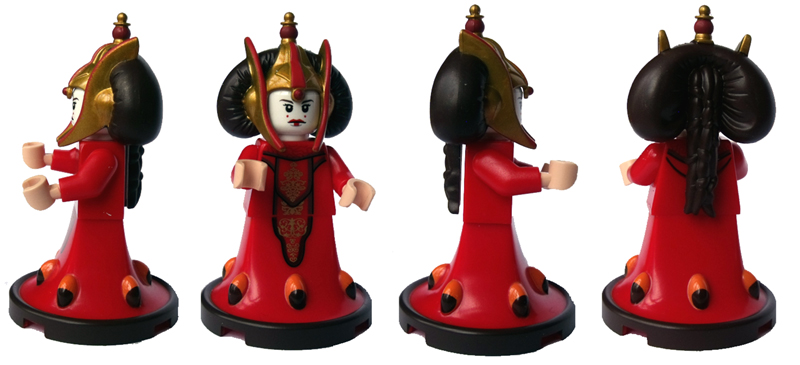Photos de la minifigurine LEGO de Queen Amidala