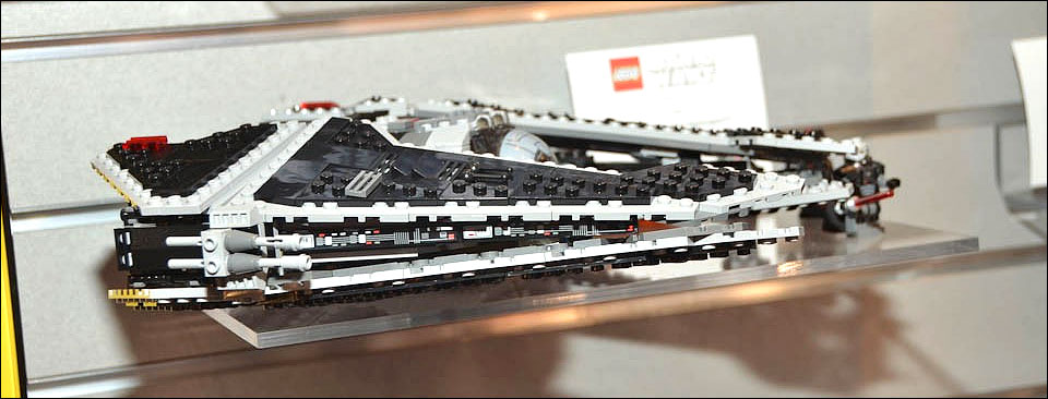 9500 fury class interceptor lego star wars the old - Vaisseau dark vador ...