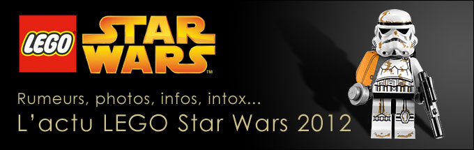 Les nouveaux sets Star Wars de la seconde vague 2012