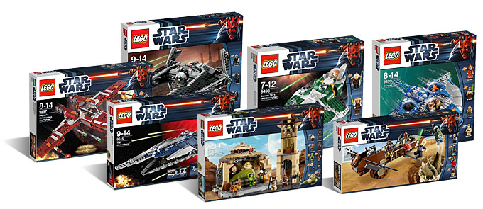 Le seconde vague des sets LEGO Star Wars 2012 disponibles sur Amazon !