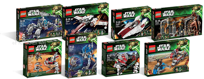Les sets LEGO Star Wars 2013