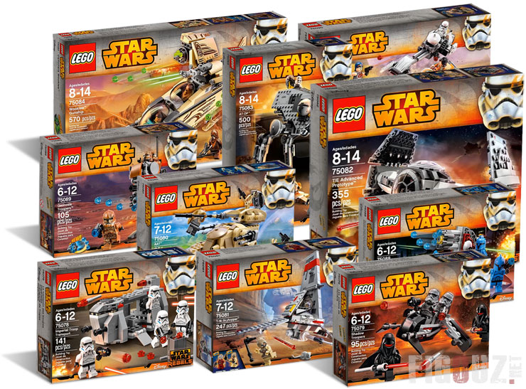 Lego Star Wars 2015 : Le plein de photos HD officielles des sets de la première vague !