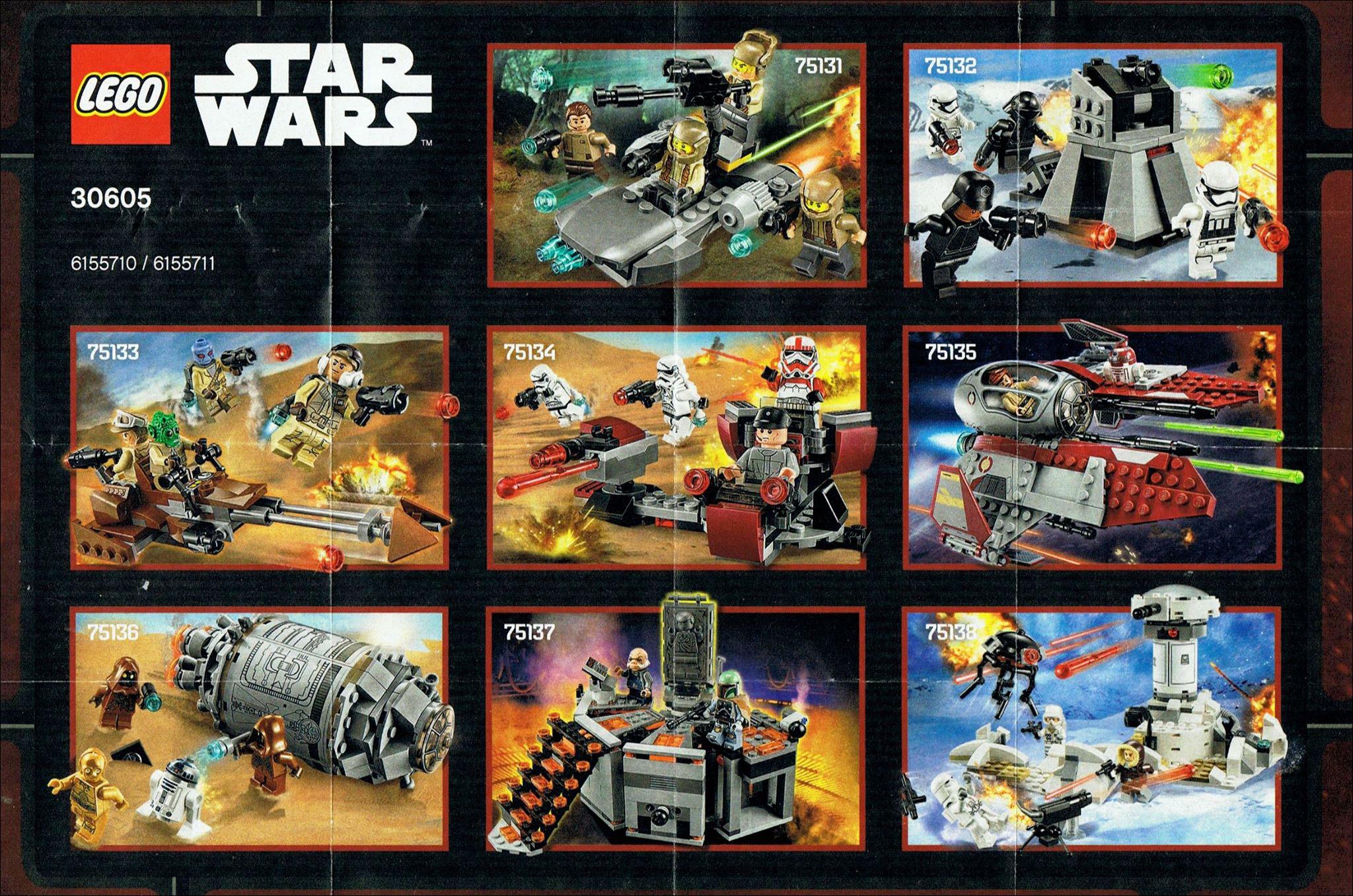 Lego star wars 2016 les nouveaux sets star wars 7 les - Image star wars lego ...
