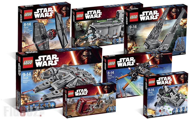 Les photos officielles des sets Lego Star Wars : The Force Awakens !